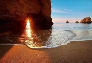Playa y luz
